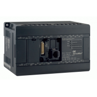 Versamax Micro 20 point PLC,(12) 24VDC In, (8) 24VDC Outputs with ESCP protection, 24VDC Power Supply. (1) serial port and (1)optional communication port. Requires Machine Edition 5.7 or higher. Batte
